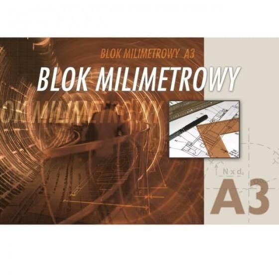 BLOK MILIMETROWY A3...
