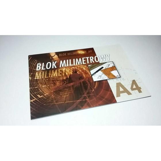 BLOK MILIMETROWY A4 INTERDRUK
