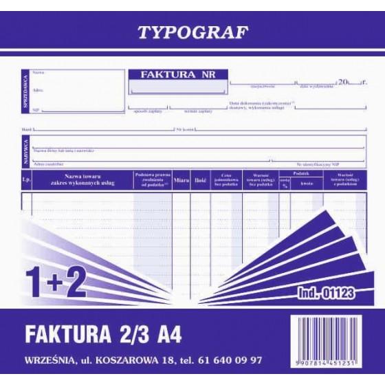 DRUKI FAKTURA 2/3 A4 (S)...