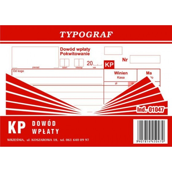 DRUKI KP (S) TYPOG.