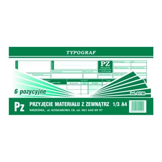 DRUKI PZ 1/3 A4 /6 POZYC/...