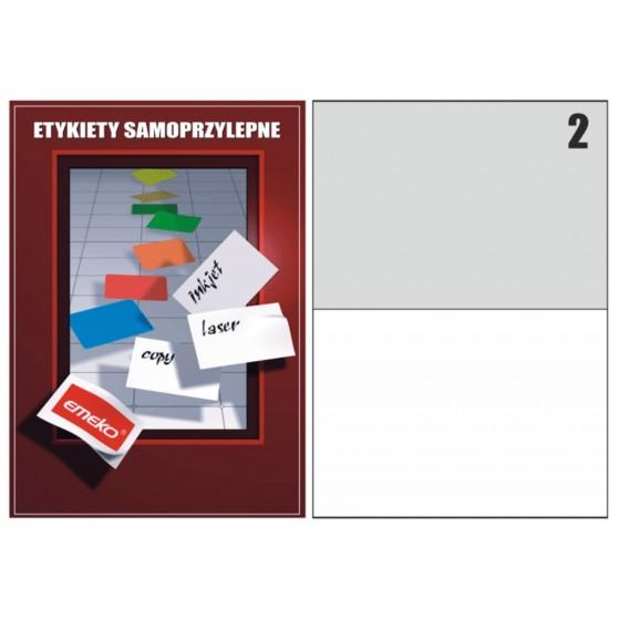 ETYKIETY SAMOP. 210x148,5 /2 (100)