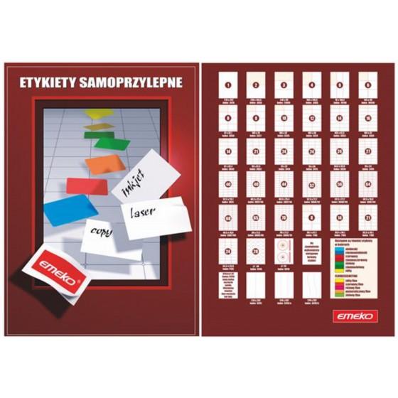ETYKIETY SAMOP. 38x21,2 (65) EMEKO