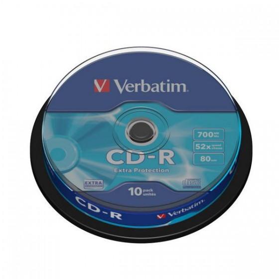 PŁYTA CD-R 700MB 52X 43725...