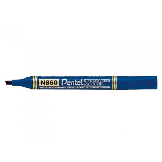 Marker permanentny PENTEL N860 ścięta końcówka