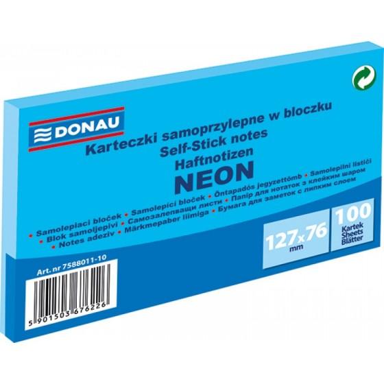 NOTES SAMOPRZYLEPNY DONAU 127X76 NEON