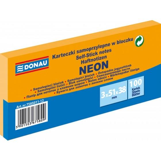 NOTES SAMOPRZYLEPNY DONAU 51X38 (3) NEON