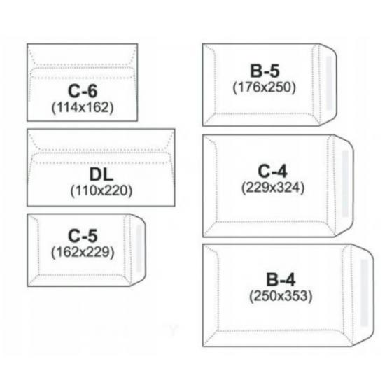Teczka kopertowa PP A4 na zatrzask